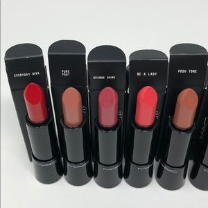 MAC Cosmetics Makeup - Mac Mineralize Rich lipstick bundle of 10 pcs new
